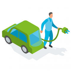 S590 - Remplacer un véhicule diesel par un véhicule électrique