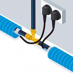 S275 - Un câble chauffant auto-régulant pour protéger du gel les conduites d'eau