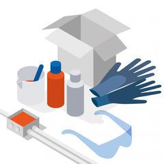 S376 - Un gel non toxique pour assurer l'étanchéité des raccordements électriques enterrés