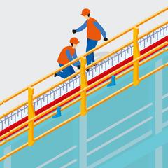 S317 - Des coffrages de rive de dalle intégrant des protections pour améliorer la sécurité