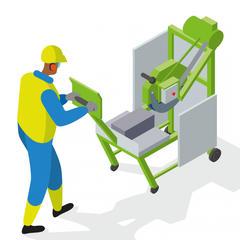 S383 - Utiliser une scie sur table pour travailler à hauteur d'homme