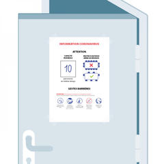 S818-Covid-19 : un affichage des capacités maximales des salles pour respecter la jauge